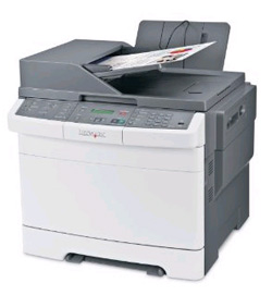 Lexmark X544dw multifunction color duplex laser printer