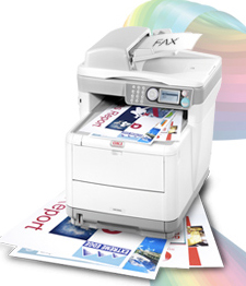 OKI MC360 printer