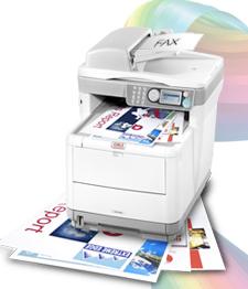 OKI MC360 printer