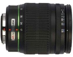 Pentax 17-70mm f/4 DA SMC AL IF SDM lens