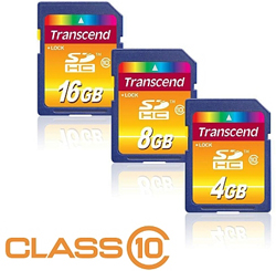 Transcend Ultimate Class 10 SDHC