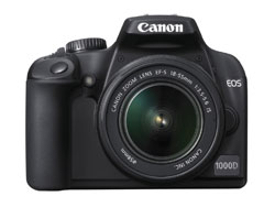 canon EOS 1000D Rebel XS Kiss F dslr camera