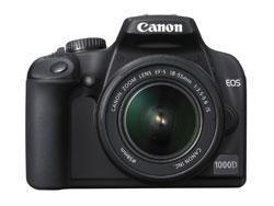 canon EOS 1000D Rebel XS Kiss F dslr camera