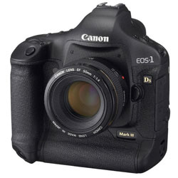 Canon EOS-1Ds Mark III DSLR camera
