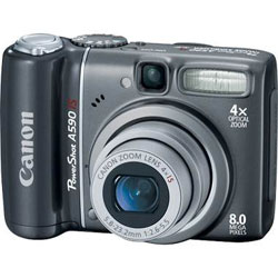 Canon PowerShot A590 IS camera