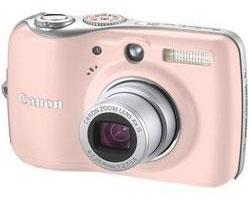 Canon Powershot E1 compact camera pink