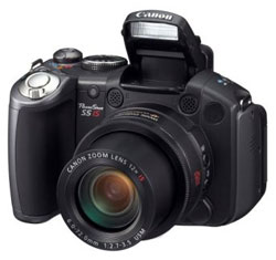 Canon PowerShot S5 IS camera