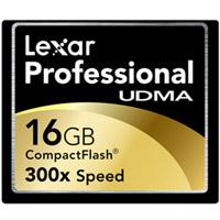 16GB Lexar Professional UDMA 300x CompactFlash