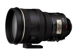 Nikon 200mm f/2G ED-IF AF-S VR Nikkor lens