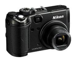 Nikon Coolpix P6000 camera