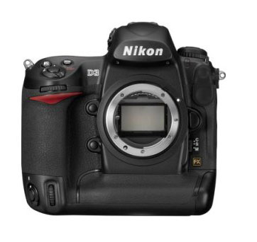 Nikon D3 DSLR camera