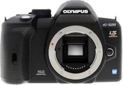 Olympus E-520 DSLR camera