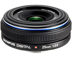 Olympus Zuiko Digital 25mm f2.8 lens