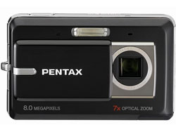 Pentax Optio Z10 camera