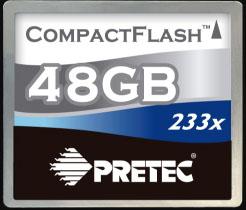Pretec 48 GB cf card