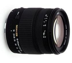 Sigma 18-125mm AF F3.5-5.6 DC lens
