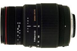 Sigma 70-300mm f/4-5.6 DG APO Macro