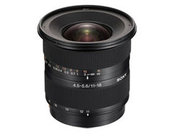 Sony DT 11-18mm f/4.5-5.6 SAL-1118 lens