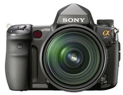 Sony Alpha 900 dslr camera