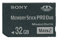 Sony Memory Stick PRO Duo 32GB