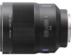 Zeiss ZA Sonnar T* 135mm f/1.8 (Sony SAL-135F18Z) lens