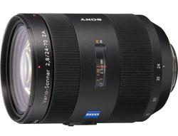Sony 24-70mm f/2.8 SSM (SAL-2470Z) lens